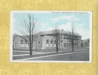 PA Port Allegany 1938 POSTCARD ARNOLD AVENUE HIGH SCHOOL Penn Education