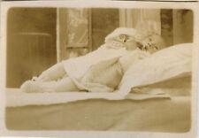 PHOTO ANCIENNE - VINTAGE SNAPSHOT - POST MORTEM ENFANT MORT - DEATH CHILD DEAD