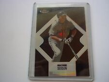 Richie Sexson 2006 Topps Finest Black Refractor #33 Serial #23/99