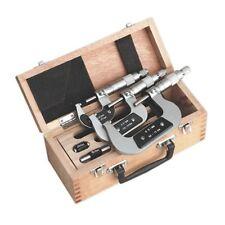 Sealey AK9651M Micromètre Ensemble 3pc Métrique