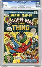 Marvel Team-Up  #6 CGC  9.6  NM+  Off - wht to wht pgs The Thing, Puppet Master