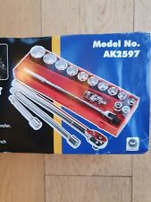 "Socket Set 17pc 3/4""Sq Drive WallDrive® Metric - Sealey - AK2597"