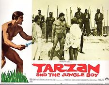 """Mike Henry Tarzan And The Jungle Boy Set Of 8 11x14"""" Lobby Cards  #M6439"""