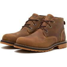 Timberland Larchmont Chukka Mens Waterproof Desert Ankle Boots Rust Size 8-14.5