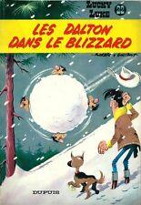 RARE EO MORRIS + GOSCINNY LUCKY LUKE N° 22 : LES DALTON DANS LE BLIZZARD