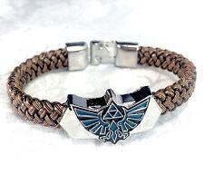Legend of Zelda Triforce Metal Bracelet Classic Video Game Jewelry Accessories