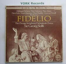 D178D 3 - BEETHOVEN - Fidelio SOLTI / BEHRENS / ADAM - Ex 3 LP Record Box Set