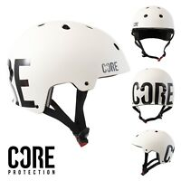 CORE Protection Bike/Skate/Multi Sport Helmet - Street White
