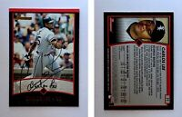 Carlos Lee Signed 2001 Bowman #77 Card Chicago White Sox Auto Autograph