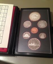 1981 Canada Double Dollar Proof Set - with COA
