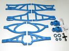 YY-MadMax A-arms for Traxxas E-REVO Front Rear W/ Hubs and Bearings Blue
