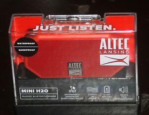 Altec Lansing Mini H2O Rugged Bluetooth Speaker NEW