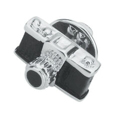 Black Camera Photography Lover Enamel Lapel Pin Men Hat Shirt Suit Breastpin