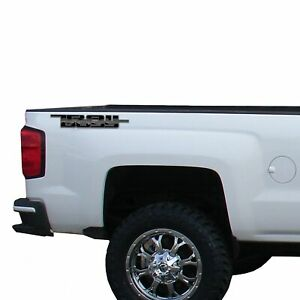 2x Trail Boss Decal Fits: all 2017-2020 Chevrolet trucks Silverado Chevy