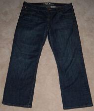 Los Angeles !It Jeans Women's Capri Pants Size 29 Blue Intentional Fading