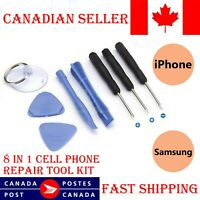 8 in 1 Repair Opening Pry Tools Screwdriver Kit Set for iPhone SE 6 6s Plus 5 5s