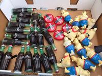 Coca Cola Light Set String Christmas Strand Polar Bear & Bottle Covers 34 Coke