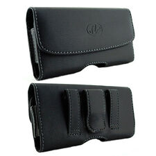 Leather Belt Clip Case Pouch for Samsung GALAXY S3 S 3 Fits with LIFEPROOF ON IT