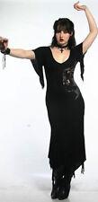 Lip Service Rare Discontinued Gothic Victorian Pixie Hem Maxi Dress XS