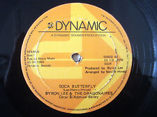 "Byron Lee & The Dragonaires Soca Butterfly Jamaica 12"" Soca 1994"