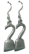 PIRATE'S HOOK DANGLE EARRINGS (D036b)