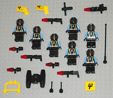 LEGO Minifigures Lot 7 Space Aliens Weapons Blasters Lego Monster Minifigs