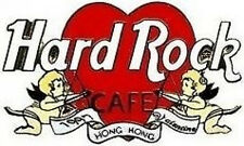 Hard Rock Cafe HONG KONG 1997 Valentine's Day PIN Heart with Cupids - HRC #3044