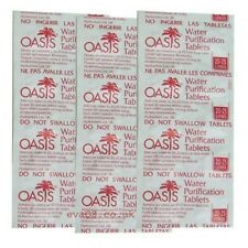 Oasis 167mg Emergency Water Purification Tablets survival tabs
