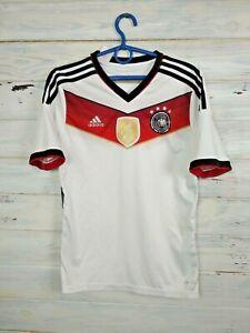 Germany Jersey 2014 2015 Home Kids Boys 13-14 Shirt Trikot Football Adidas