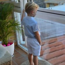 SEWING PATTERNS Paper Pattern boys' SHIRT+SHORTS Toddler's Baby's SPANISH KID