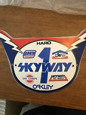Old School 80s Haro Style BMX Number plate by Cycle Craft - SKYWAY BMX