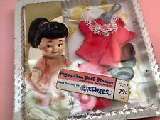 New listing Peggy Ann - 1967 - Pocketbook Doll Fashion - Peewees - Heidi - Nrfb - Mib - Nos