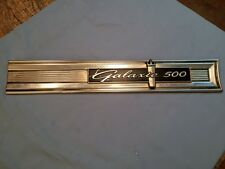 1964 FORD GALAXIE 500 TAIL PANEL MOULDING/TRIM - RH SIDE
