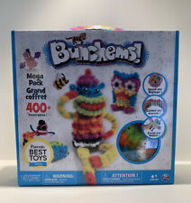Bunchems! Mega Pack 400  pcs by Spin Master Boy Girls Play Gift Create-Brand New