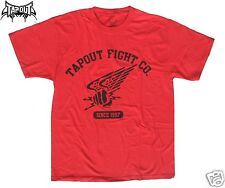 Tapout Fight Company Red T-Shirt Size Large UFC Tee Shirt Short Sleeve Top New
