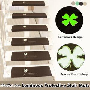 Star Tread Carpet Mats Step Starcase Non Slp Mat Protecton Cover Pads