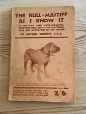 More details for rare bullmastiff  dog book by craven 1st 1932