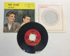 EVERLY BROTHERS SO SAD/LUCILLE - WARNER BROTHERS 5163, VINYL 8.0, SLEEVE 6.0