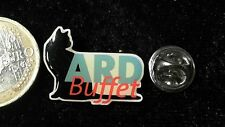 Media Radio TV Pin Badge ARD Buffet Katze