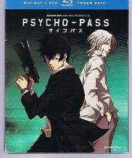 Psycho-Pass: Season 1 Part 2 - Episodes 12-22 (Blu-ray/DVD, 2014, 4-Disc Set)