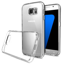 Samsung Galaxy S7 Handy Hülle Silikon Cover Schutzhülle Soft Case transparent