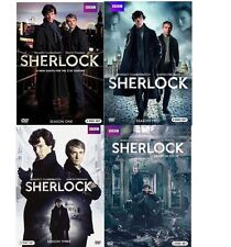 Sherlock: The Complete Series Seasons 1-4 (DVD) NEW 1 2 3 4
