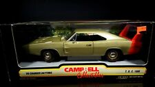 1/18 ERTL 1969 Dodge Daytona Gold/red stripe Campbell Collectibles Gold/Red Wing