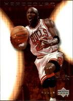 2003-04 Upper Deck Hardcourt Basketball #9 Michael Jordan Chicago Bulls