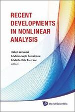 Recent Development in Nonlinear Analysis : Proceedings of the Conference in...