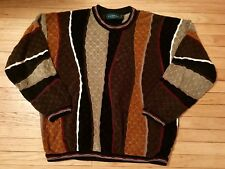 Mens Vintage Tundra Sweater XLT Tall Canada 80s 90s Retro Pullover Long