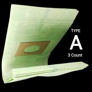 3 Count Bags Hoover Upright Vacuum Cleaner Bag Type A 4010324A