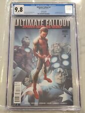 Ultimate Fallout #4 2nd Second Printing Bagley CGC 9.8 1st Miles Morales