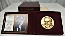 Nolan Ryan New York Mets Highland Mint Bronze Magnum Coin 889/3000 w/ COA