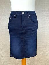 G-STAR Damen Gr. 27 / 36 Jeansrock Stretch denim skirt blau Rock navy #310